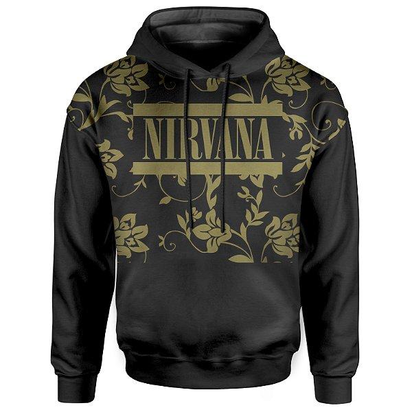 Moletom Com Capuz Unissex Nirvana md01