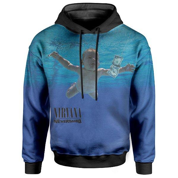 Moletom Com Capuz Unissex Nirvana md02