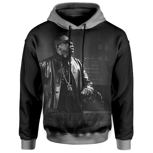 Moletom Com Capuz Unissex Jay Z - Jay-Z md02