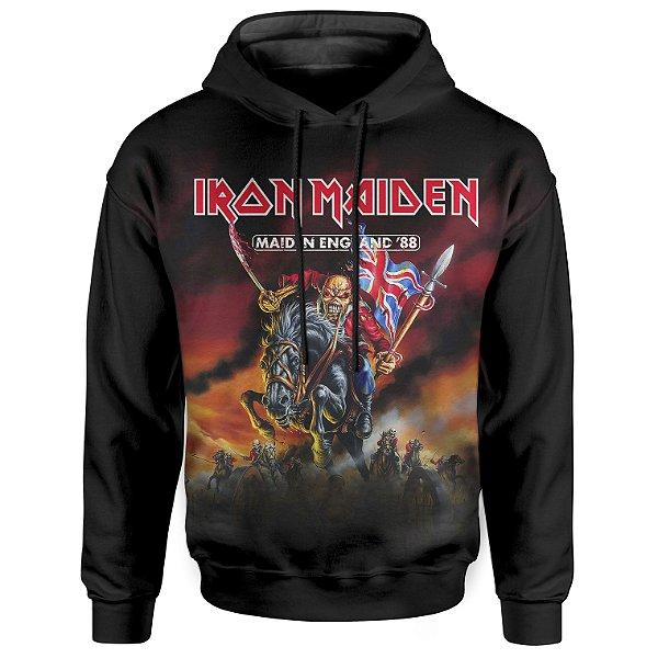 Moletom Com Capuz Unissex Iron Maiden md02
