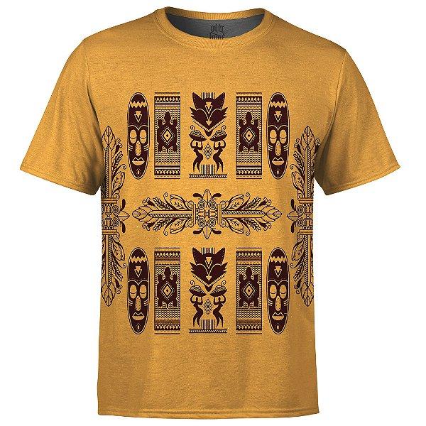 Camiseta Masculina Étnica Tribal Africana Md08 - OUTLET
