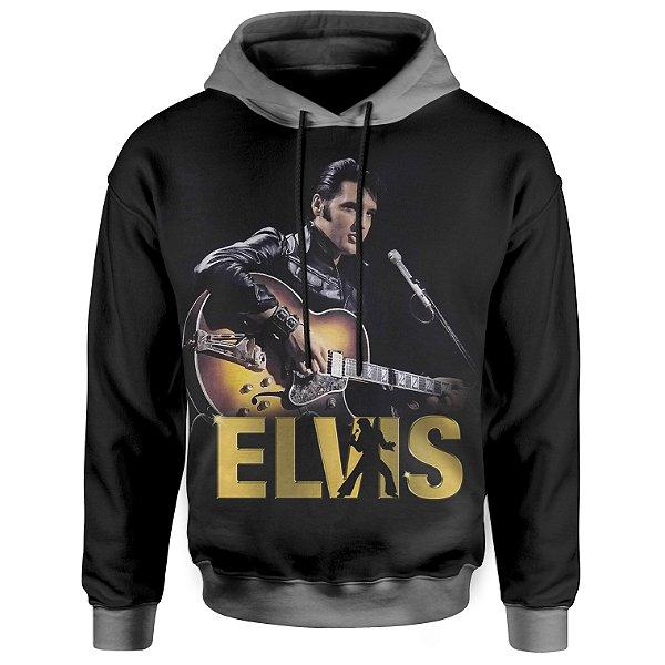 Moletom Com Capuz Unissex Elvis Presley md03