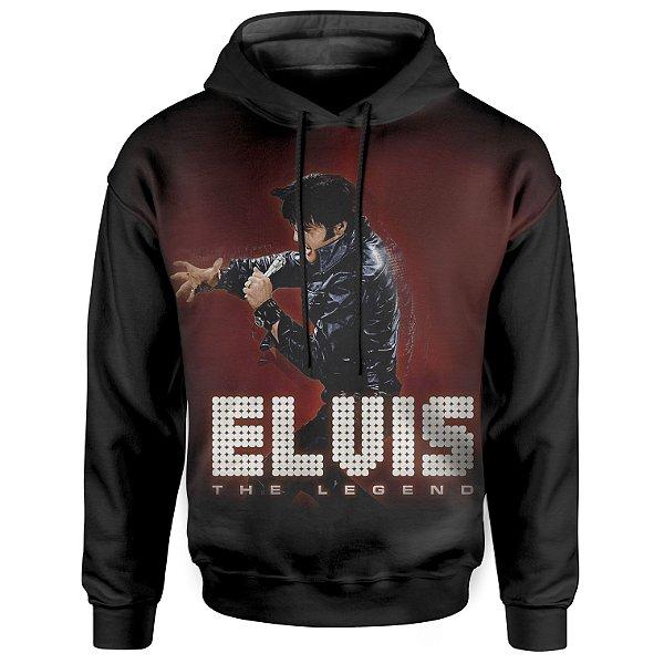 Moletom Com Capuz Unissex Elvis Presley md01