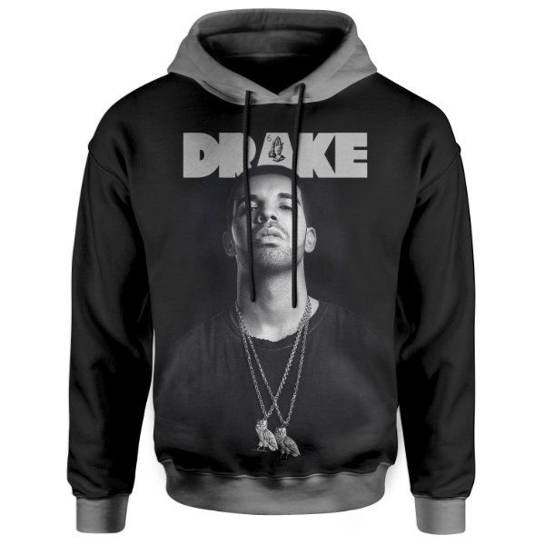Moletom Com Capuz Unissex Drake md04