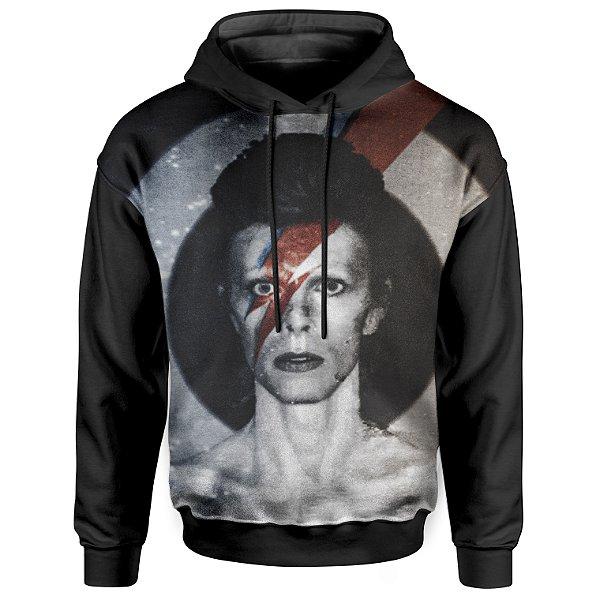 Moletom Com Capuz Unissex David Bowie md01