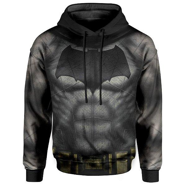 Moletom Unissex Com Capuz Batman Armadura MD02 - OUTLET
