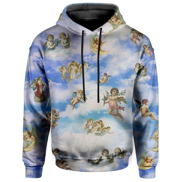 Moletom Com Capuz Unissex Anjos Querubins Md01