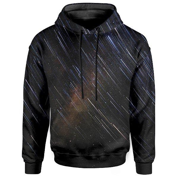 Moletom Com Capuz Unissex Estrelas Cadente Md01