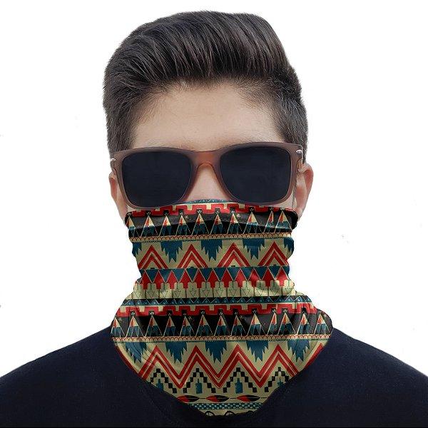 Máscara Bandana Étnica Tribal Proteção Ciclismo Pesca Moto