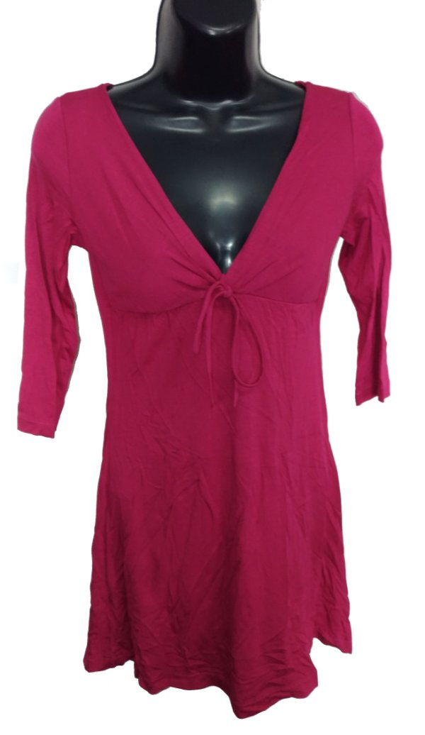 Vestido Vermelho Básico ( Peça única Tam.PP)