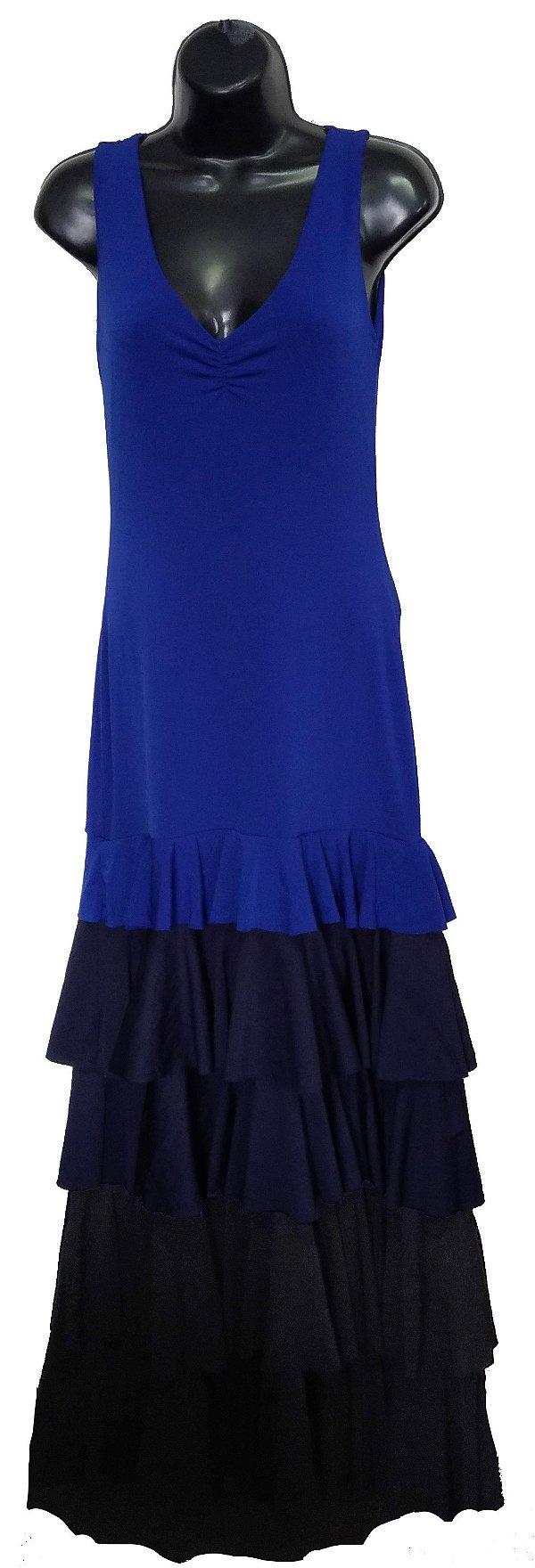 Vestido Azul Degradê (Peça única tam. P)
