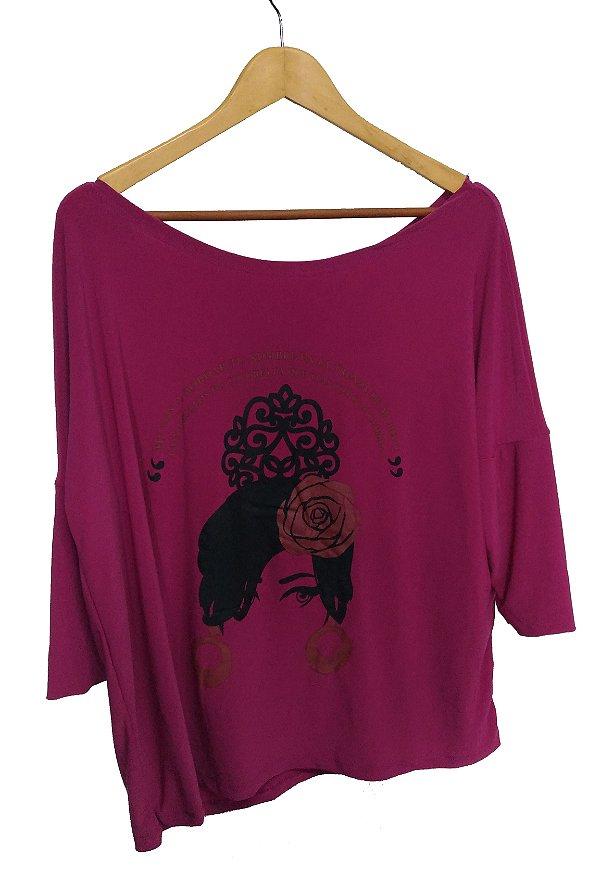 Blusa A Fulana Flamenco Pink