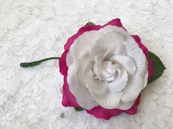 Rosa Pequena Duas Cores
