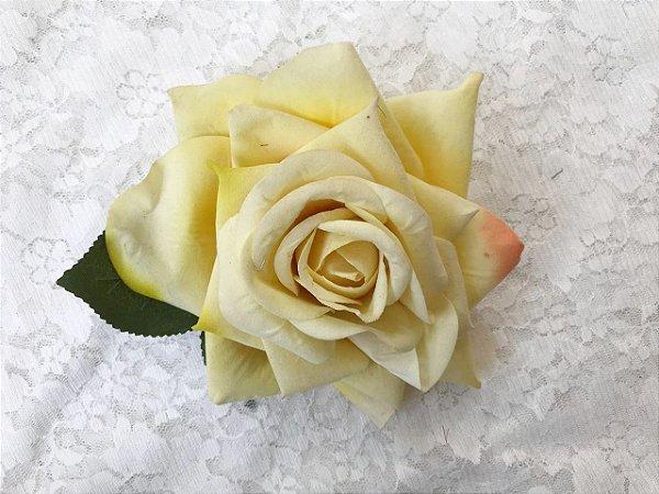 Rosa Grande Creme Sem Arame