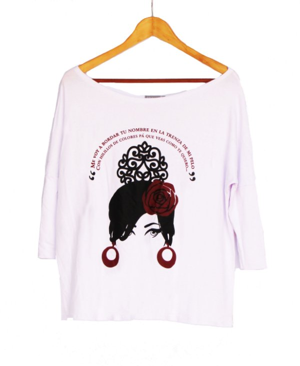 Camiseta A Fulana Flamenco