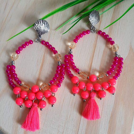 Brinco verão pink