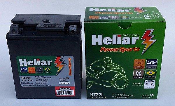 1672fe43732 Bateria Moto Heliar Htz7 Twister/ Tornado/ Cb300/ Fazer 250 - XJ ...