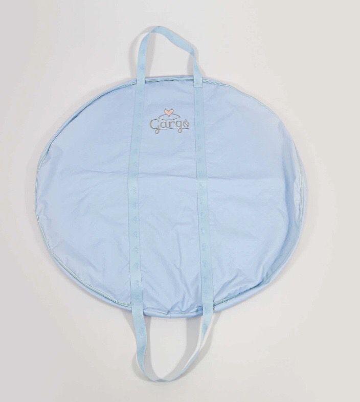 Porta Tutu - Azul bebê / PRÉ VENDA