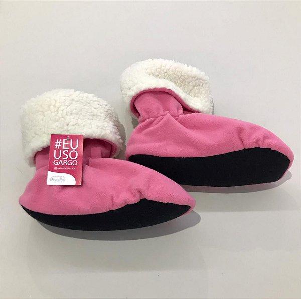 Botinha de aquecimento - Pink
