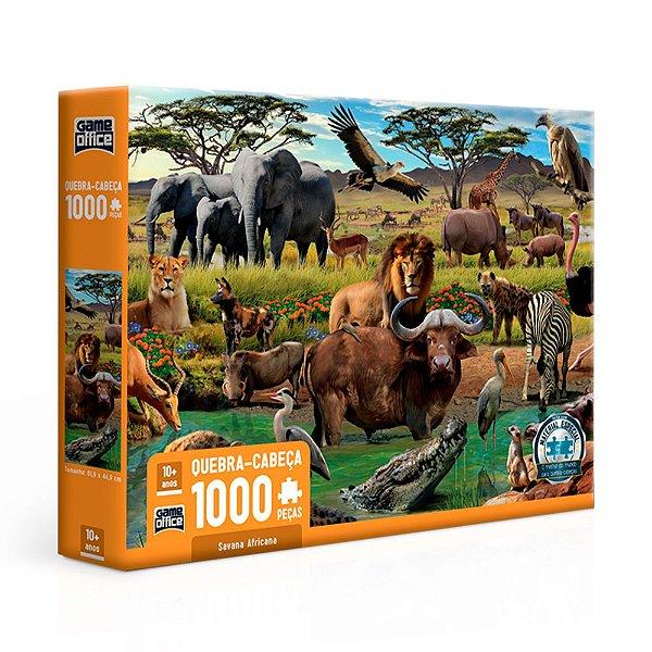 Quebra-Cabeça Savana Africana 1000 Peças