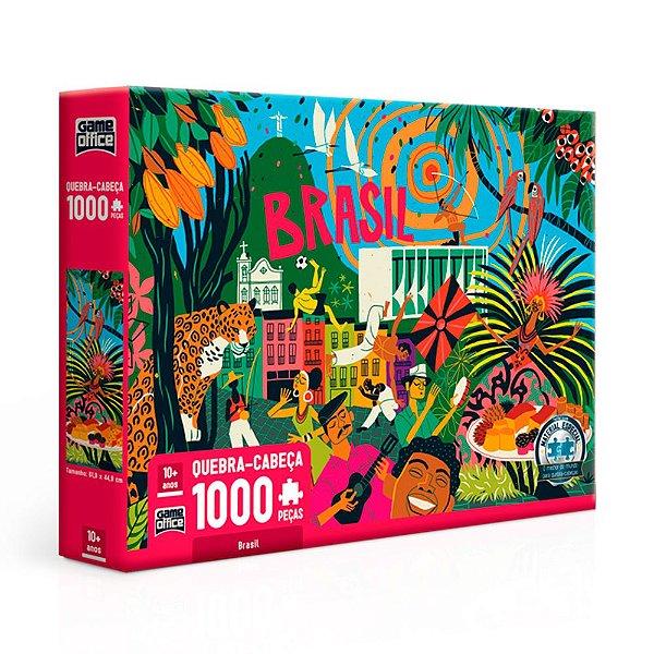 Quebra-Cabeça Brasil 1000 Peças