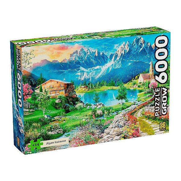 Quebra-Cabeça Alpes Italianos 6000 Peças