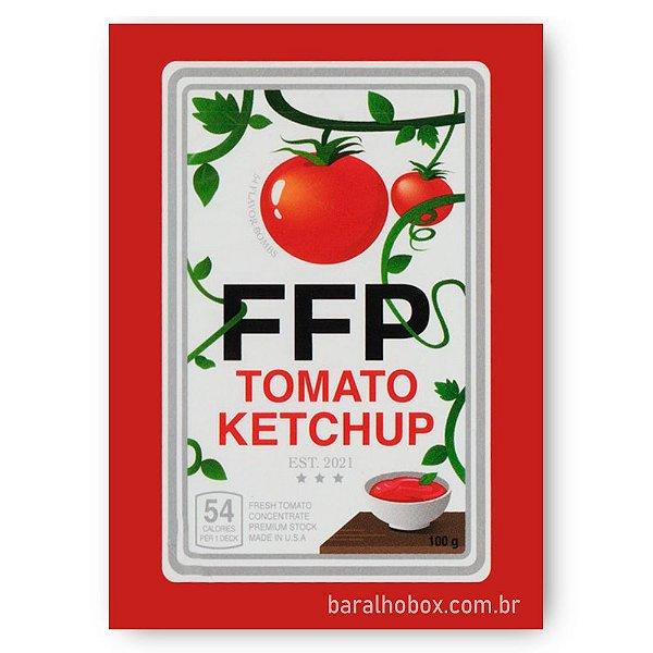 Baralho Fast Food Tomato Ketchup