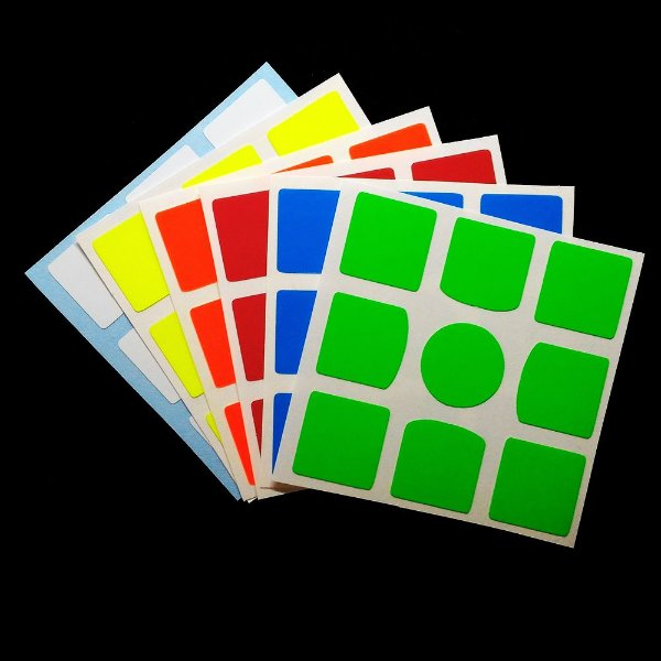Adesivo 3x3x3 GAN 356 - Fluorescente