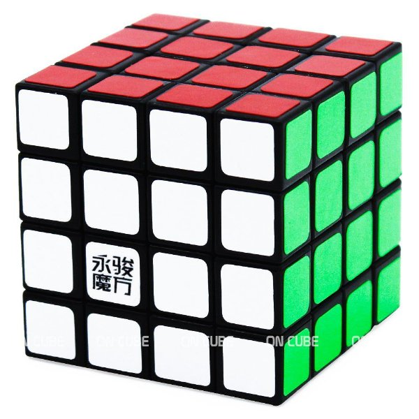 Cubo Mágico 4x4x4 YJ ShenSu Preto