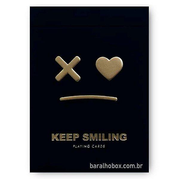 Baralho Keep Smiling Black V2