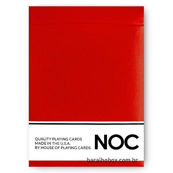 Baralho NOC Original - Vermelho (Red)