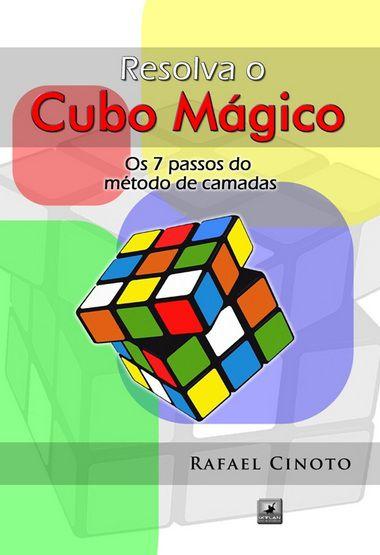Livro Resolva o Cubo Mágico
