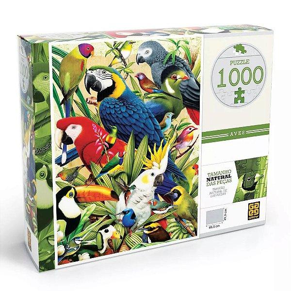 Quebra-Cabeça Aves 1000 Peças
