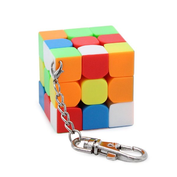 Chaveiro Cubo Mágico 3x3x3 Moyu Mini - 4 CM