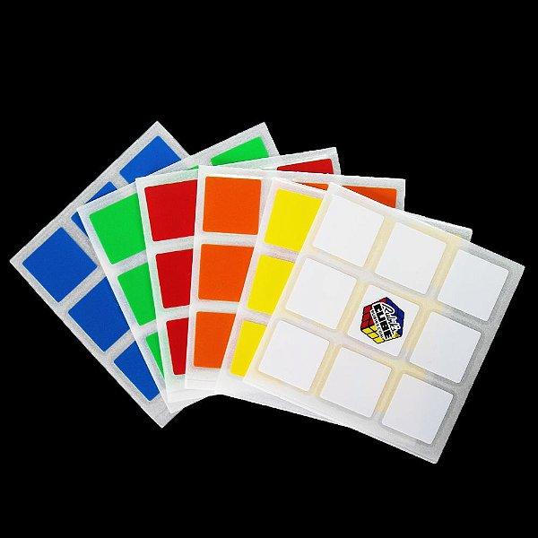 Adesivo 3x3x3 Rubik's