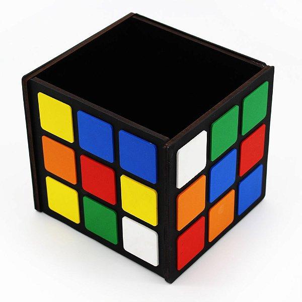 Porta Treco / Porta Lápis - Cubo Mágico