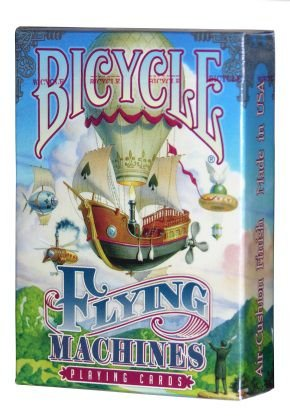 Baralho Bicycle Flying Machines