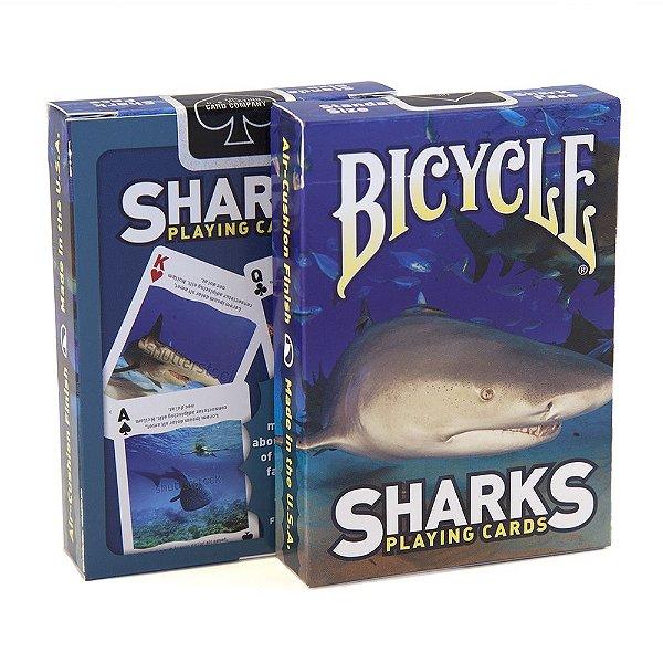 Baralho Bicycle Sharks