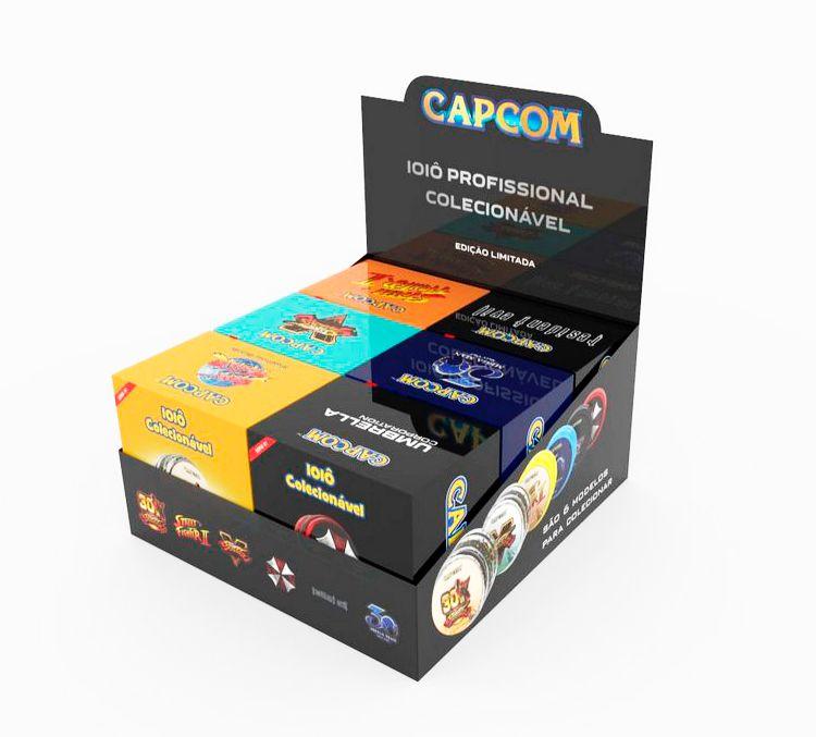 Ioiô Capcom Luxo - Caixa com 6 unidades