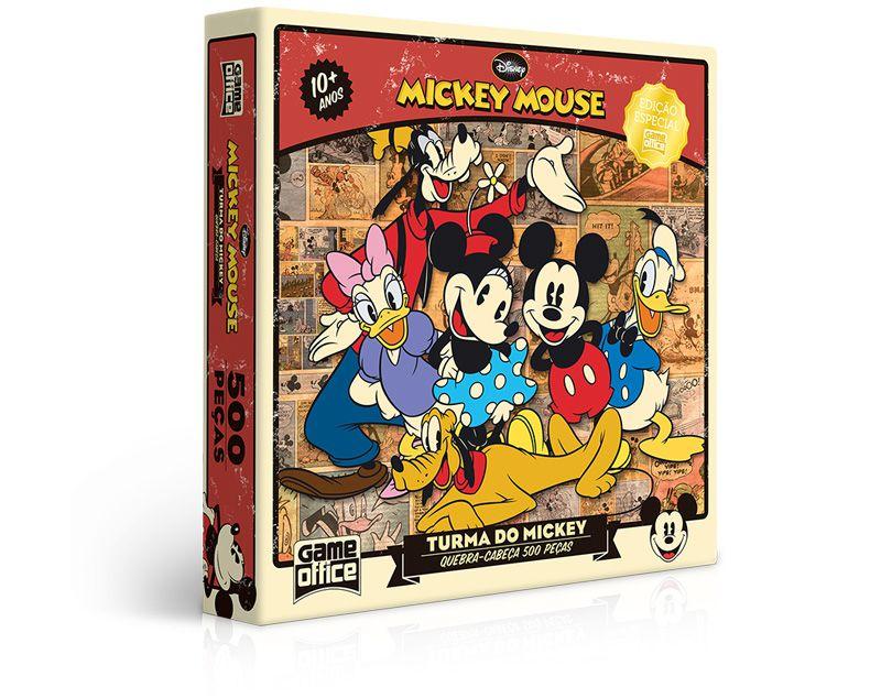 Quebra-Cabeça A Turma do Mickey 500 Peças