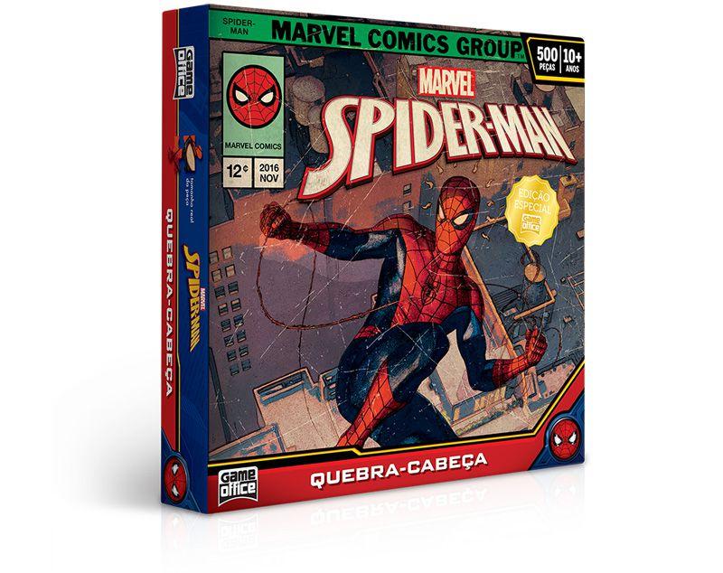 Quebra-Cabeça Spider-Man - Homem Aranha 500 Peças