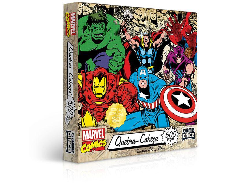 Quebra-Cabeça Marvel Comics 500 Peças