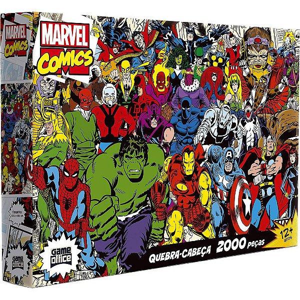 Quebra-Cabeça Marvel Comics 2000 Peças