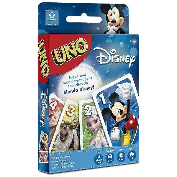 Jogo de Cartas UNO Disney