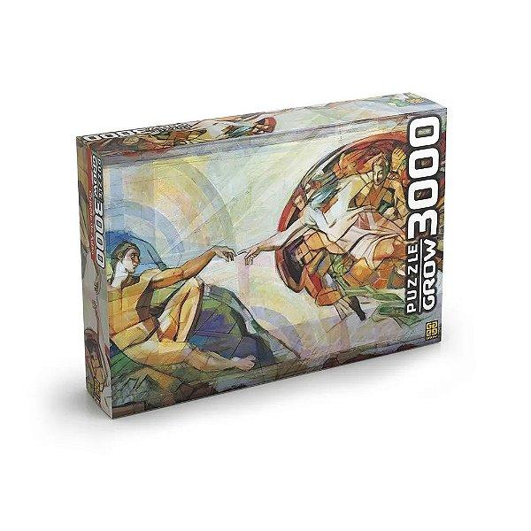 Quebra-Cabeça Criação de Adão 2018 3000 peças