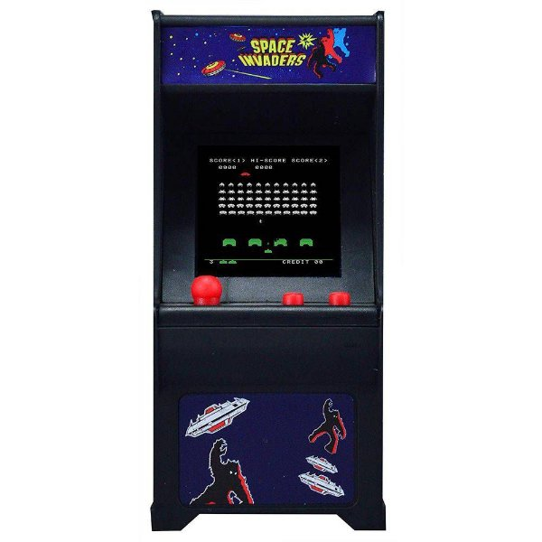 Mini Fliperama Tiny Arcade - Space Invaders - DTC