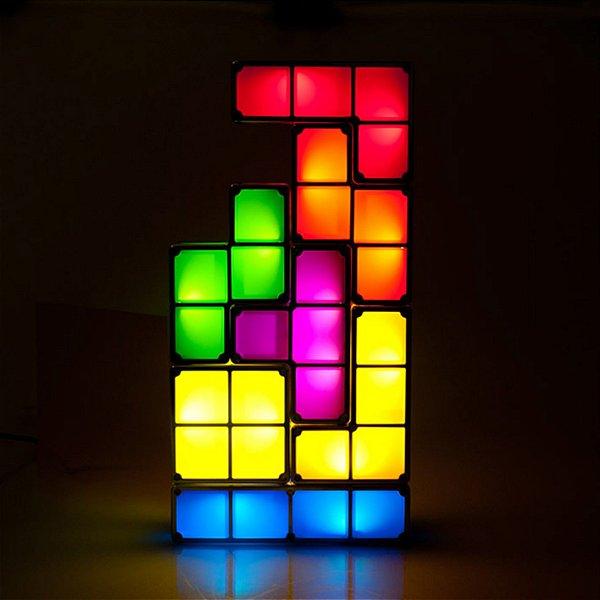 Luminária Tetris  - Monte como quiser!