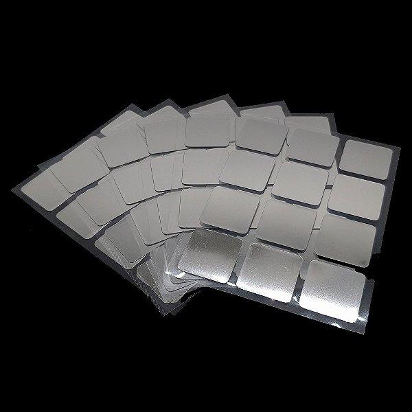 Adesivo 3x3x3 Metalizado