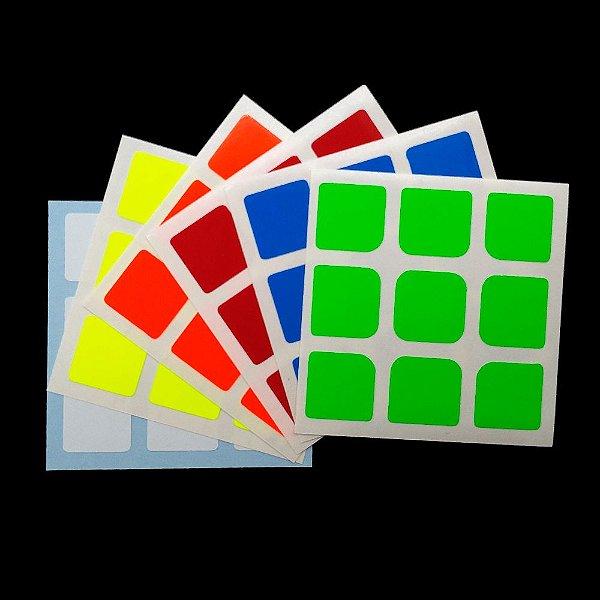 Adesivo 3x3x3 Guanlong