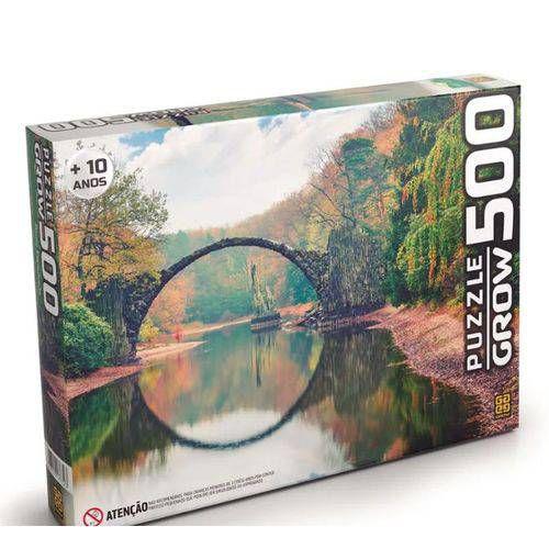 Quebra-Cabeça Ponte Espelhada 500 peças